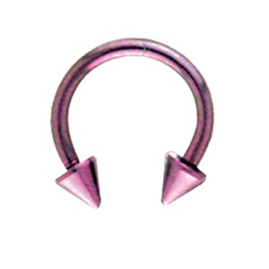 Circular Barbell aus Titanium in 1.0 und 1.2mm Stärke