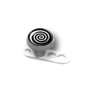 Titanaufsatz für Dermal Anchor mit Spirale