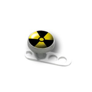 Titanaufsatz für Dermal Anchor - Radioaktiv
