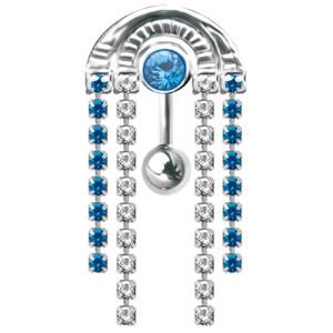 Upper Belly Shield Chain mit Strassketten
