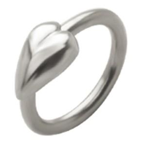 Closure Ring mit Herz Design