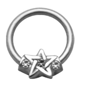 BCR mit Stern Motiv und Kristall