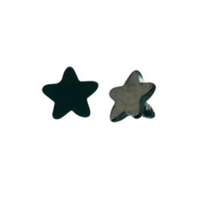 Dermal Anchor Aufsatz schwarz mit Stern