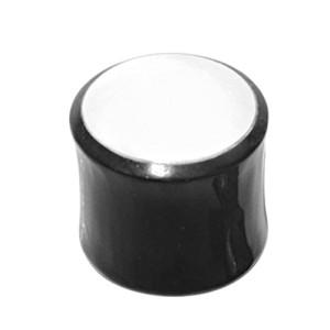 Organix Plug mit einem weißen Motiv