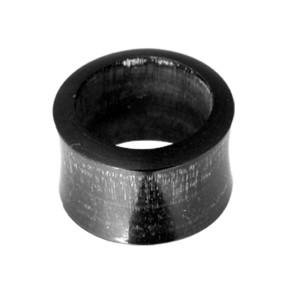 Organix Ohrtunnel aus Ebenholz, in verschiedenen Durchmessern