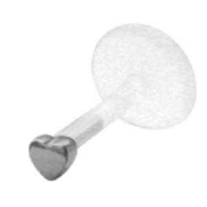 Bioplast Stecklabret mit kleinem Herz