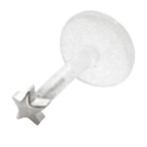 Bioplast Stecklabret mit kleinem Stern