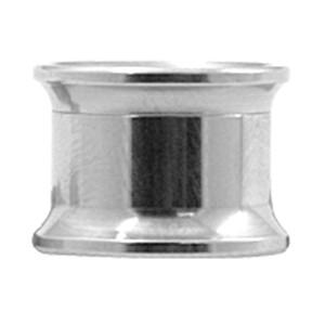 Ohrtunnel mit Gewinde in 3.0 bis 20.0mm Stärke