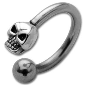 316L Chirurgenstahl circular 1.6x12mm, Skull