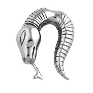 316L steel cast claw SNAKE 4.0mm