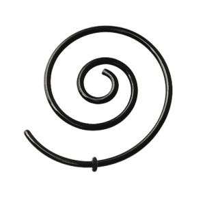 Schwarzer Chirurgenstahl Spirale 1.2mm
