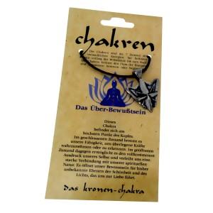 Kettenanhänger - das Kronen-Chakra