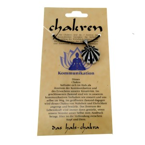 Kettenanhänger - das Hals-Chakra