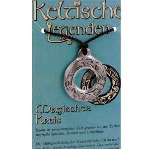 Kettenanhänger keltische Legenden - Kreis Symbol