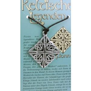 Kettenanhänger keltische Legenden - Fionn Symbol