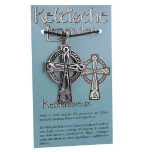 Kettenanhänger keltische Legenden - Keltenkreuz Symbol
