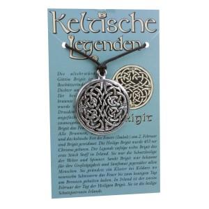 Kettenanhänger keltische Legenden - Brigit Symbol