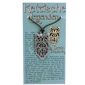 Anhänger keltische Legenden - Stein von Blarney Symbol