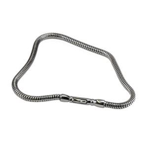 Armband aus Edelstahl Typ SCHLANGE in zwei Längen