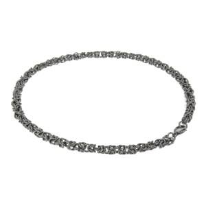 Königs-Halskette aus Edelstahl in drei verschiedenen Längen
