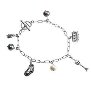 Bettelarmband Sterling Silber MIDNIGHT MOON
