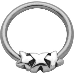 Ball Closure Ring mit Triple X Design
