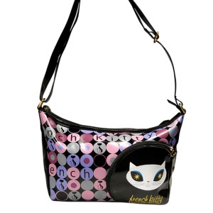 French Kitty Schultertasche
