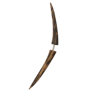 Pseudo-Piercing aus Palmholz