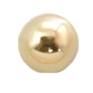 14 Karat Gold Massivschraubkugel 1.6mm Gewinde