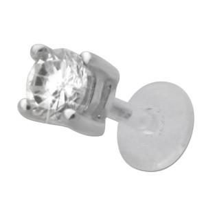 Bioplast Stecklabret mit Zirkonie 4mm 1.2x6mm / 1.2x8mm / 1.2x10mm Länge