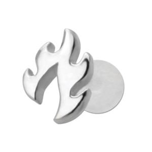 Bioplast Stecklabret mit Motiv Feuer