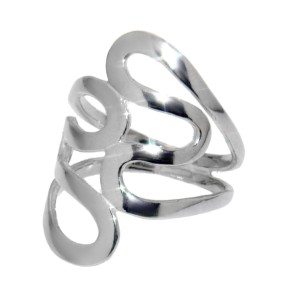 Eleganter Ring im Retro-Design aus 925 Sterling Silber