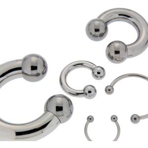 Hufeisen Piercing 3.2mm Stärke