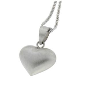 Herzförmiger Anhänger aus 925 Sterling Silber