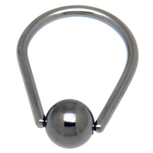 Tear Drop Ball Closure Ring aus Chirurgenstahl - Tropfen