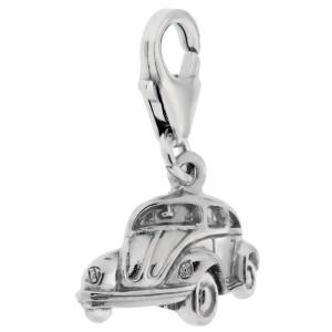 Charm-Anhänger VW Käfer aus  925 Silber
