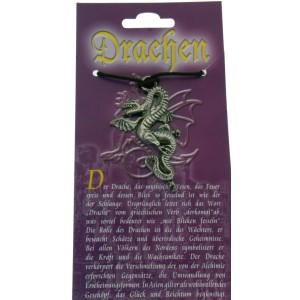 Kettenanhänger mit Drachen Design