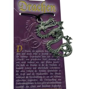 Kettenanhänger mit Drachen Design - Schlangen-Drache