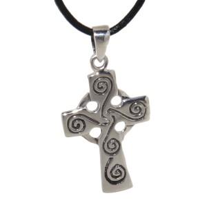 Anhänger aus 925 Sterling Silber, Kreuz