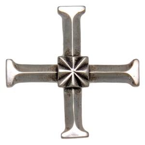 Anhänger aus 925 Sterling Silber, KREUZ, symmetrisch