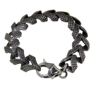 KoolKatana Armband in Drachenhaut Optik 22.5cm