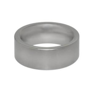 Stahlring mattiert, Ringhöhe 9mm