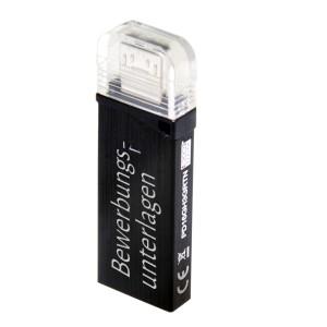 16GB USB 3.0 Stick mit Gravur schwarz OTG