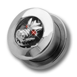Ohrplug mit Drachenkopf Design 10-16mm
