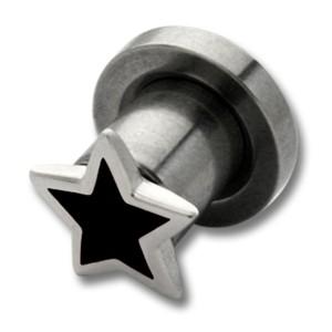 Ohrplug mit Stern 4-8mm