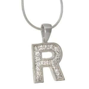 Anhänger Sterling Silber  Buchstabe R