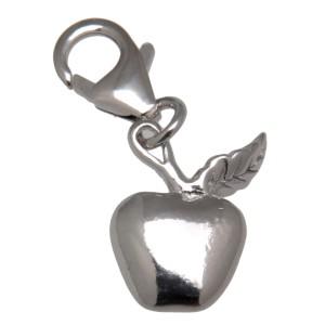 Charm-Anhänger Apfel aus 925 Sterling Silber