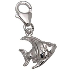 Charm-Anhänger Tropenfisch aus 925 Sterling Silber