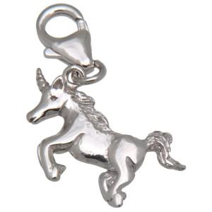Charm-Anhänger Einhorn aus 925 Sterling Silber