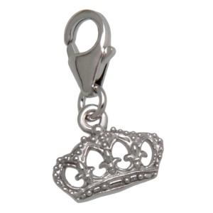 Charm-Anhänger Kleine Königin aus 925 Sterling Silber
